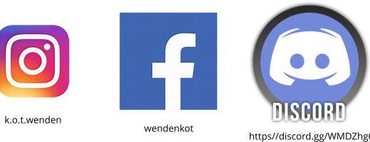 Social Media und Kontaktmöglichkeiten